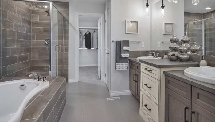 Bridgeport-II new home Edmonton master ensuite bathroom