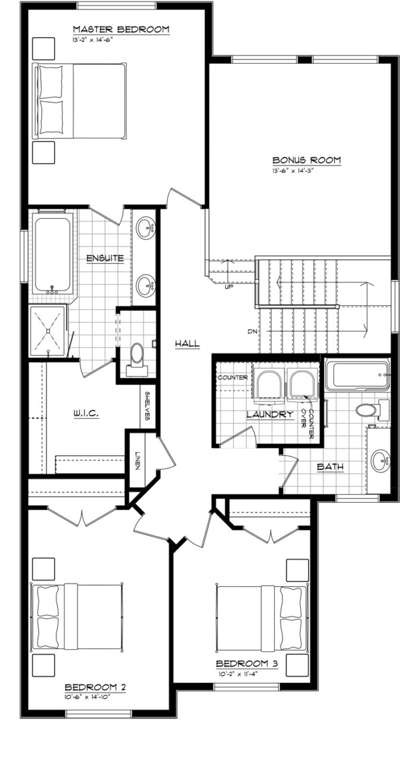 Bridgeport II Second Floor 2019