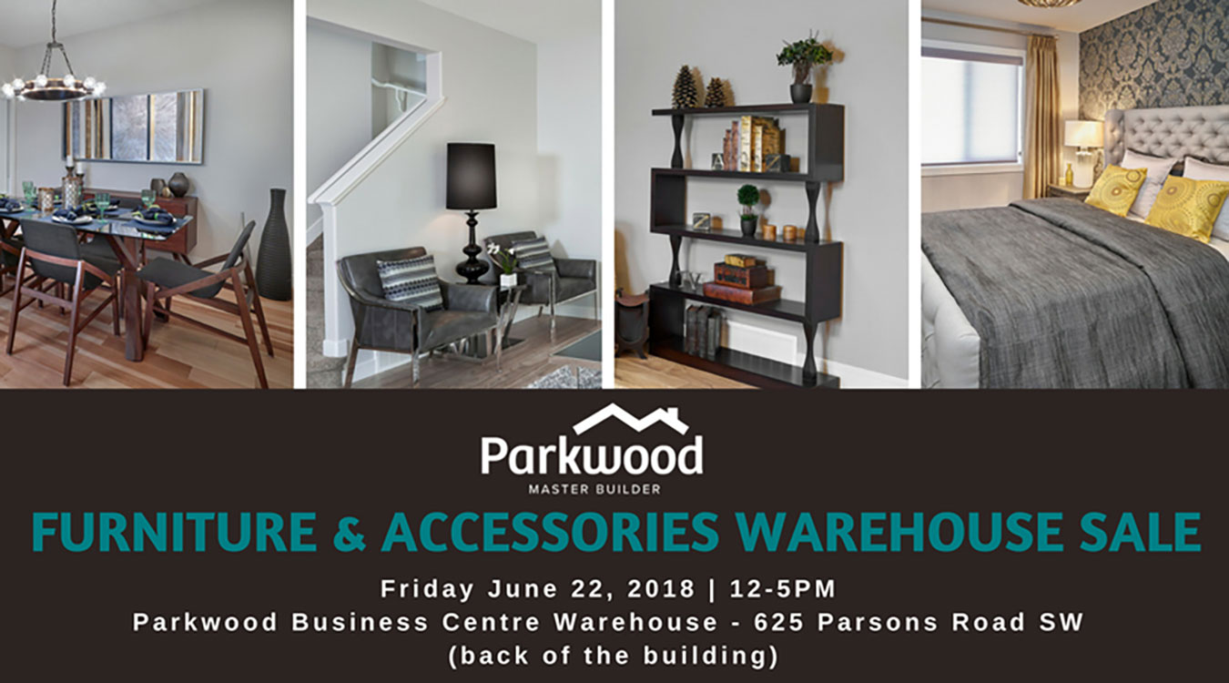 Parkwood's furniture & accessories warehouse sale