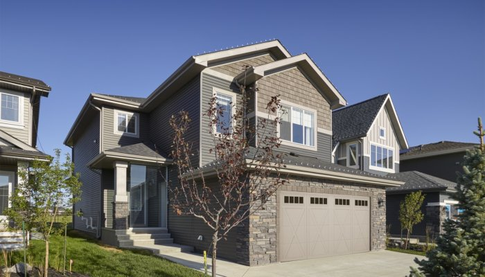 Saffron garden ii two story home model Edmonton