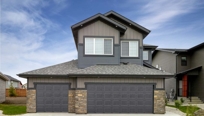 Sienna Edmonton new two story home model