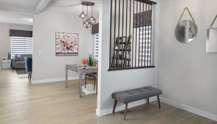 Sienna entryway new home builder Edmonton