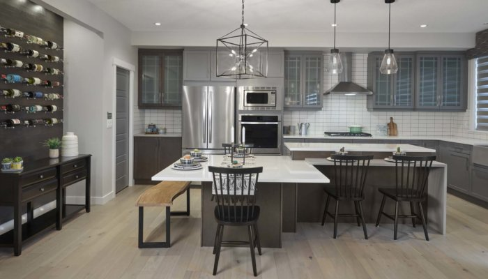 Sienna gourmet kitchen new home builder Edmonton