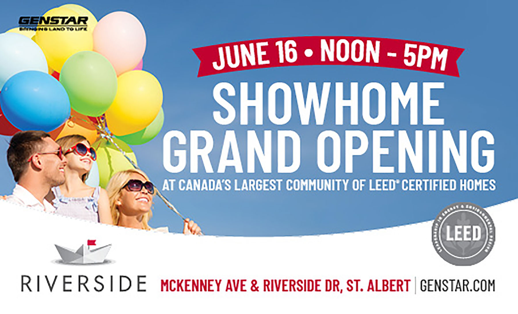 Join us for riverside's sienna show home grand opening!