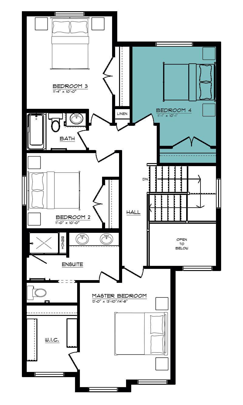 Venice II - Two Storey : Parkwood Master Builder