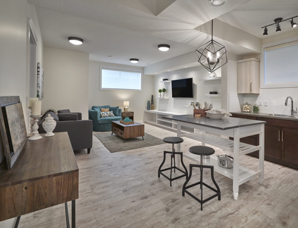 Basement suite - build a new home for multi-generational living Edmonton