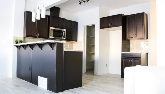 quick possession edmonton duplex kitchen
