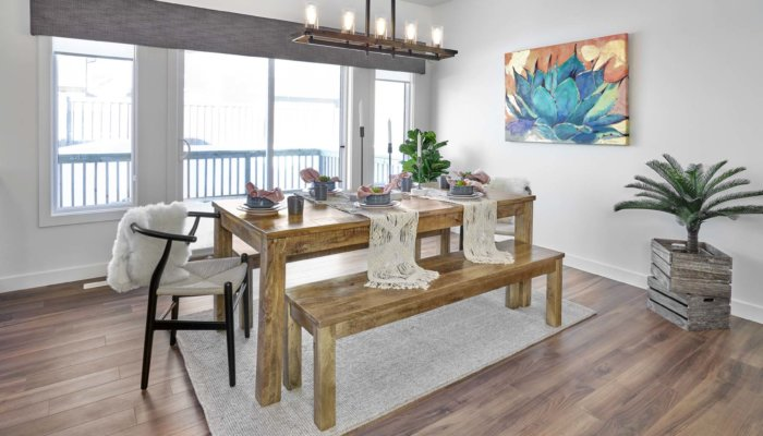 SingleFamily Edmonton Woodbury Dining Room