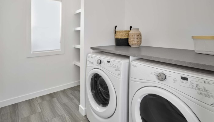 SingleFamily Edmonton Woodbury Laundry Romo