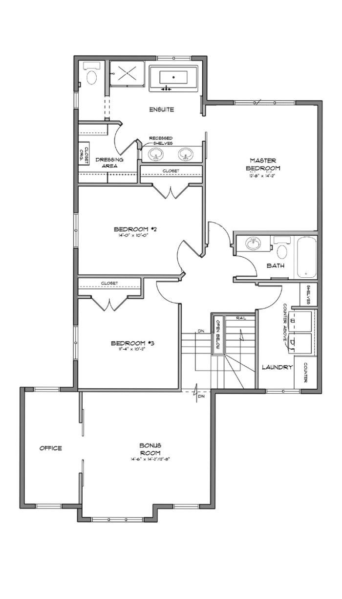 Avalon Showhome Second Floor