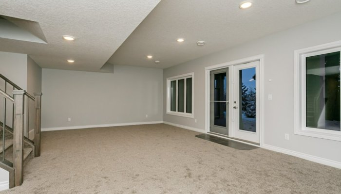 Quick Possession Edmonton Condo Villas Basement