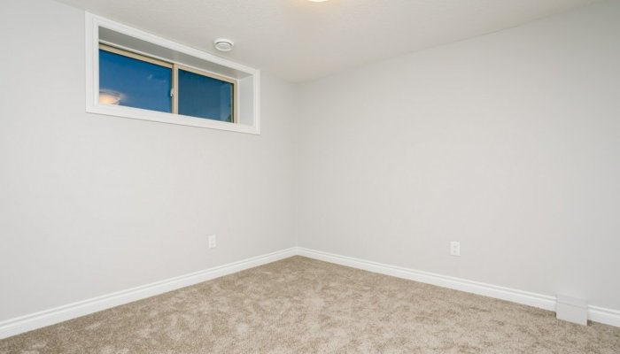 Quick Possession Edmonton Condo Villas Basement Bedroom