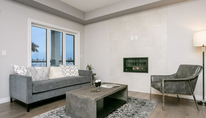 Quick Possession Edmonton Condo Villas Living Room