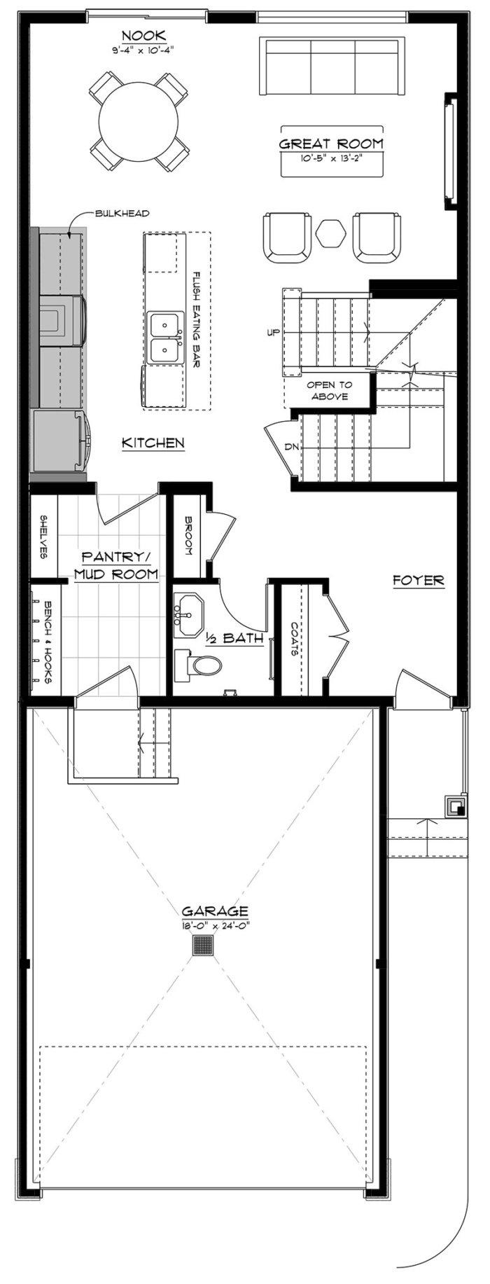 Parker Main Floor 2020