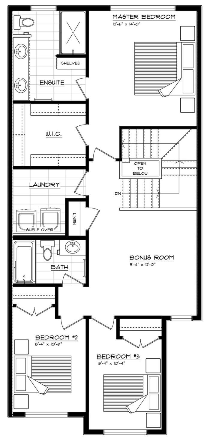 Parker Second Floor 2020