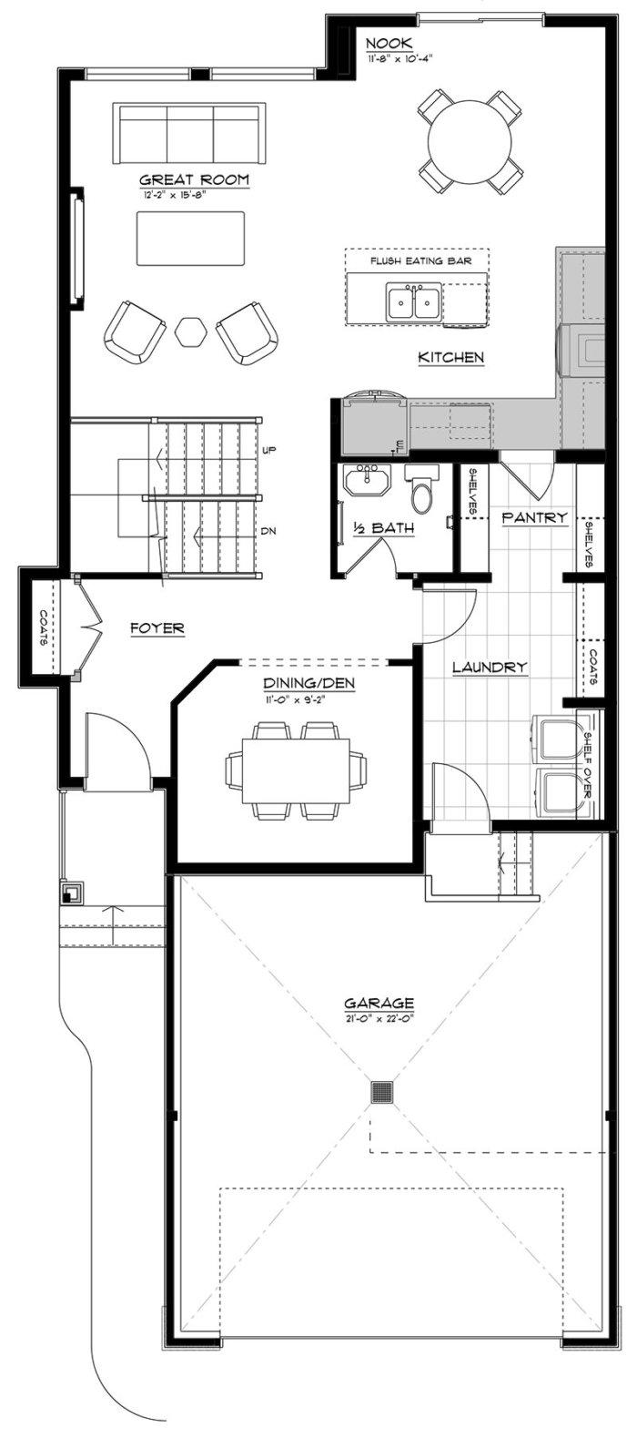 Newport II Main Floor 2020