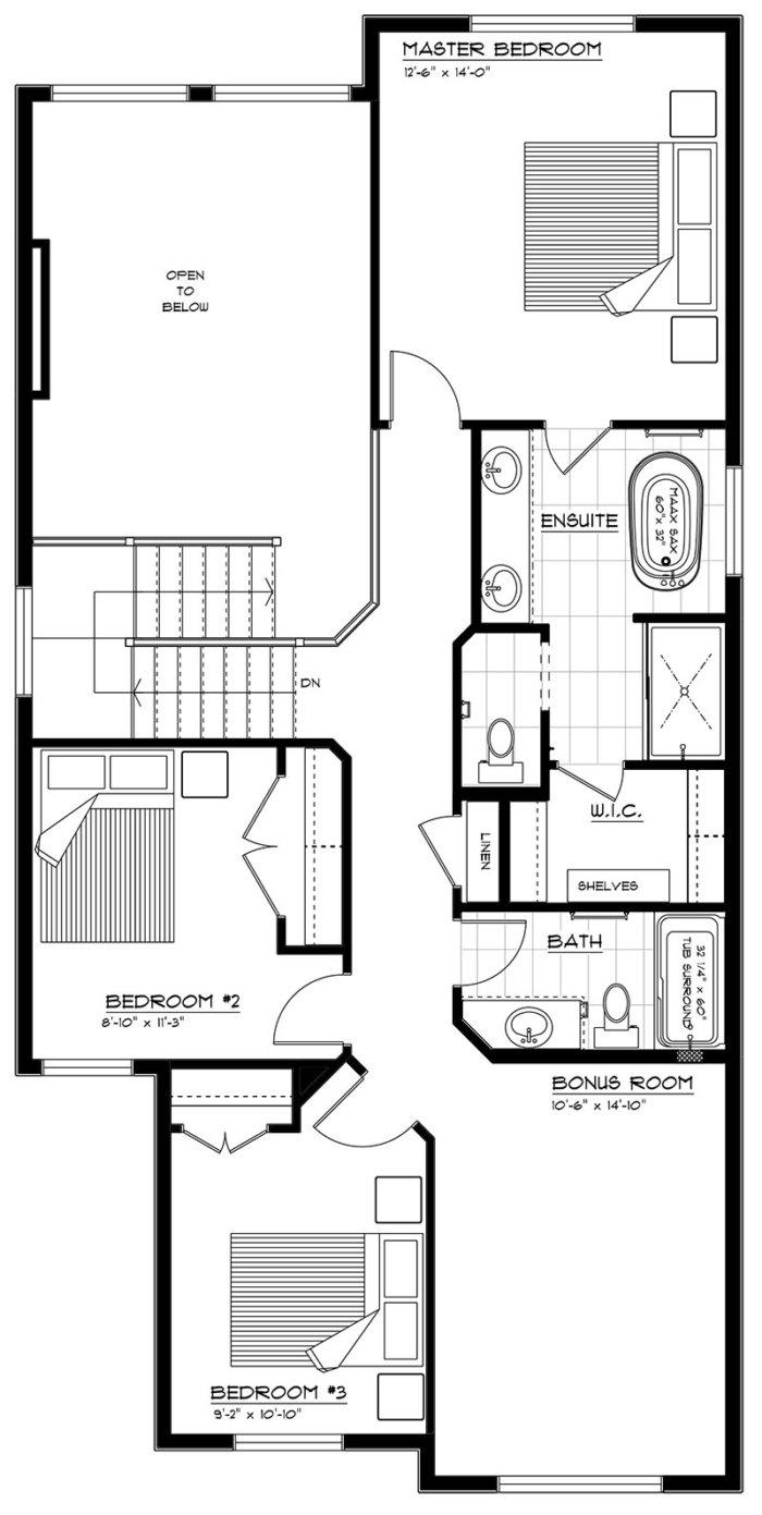 Newport II Second Floor 2020