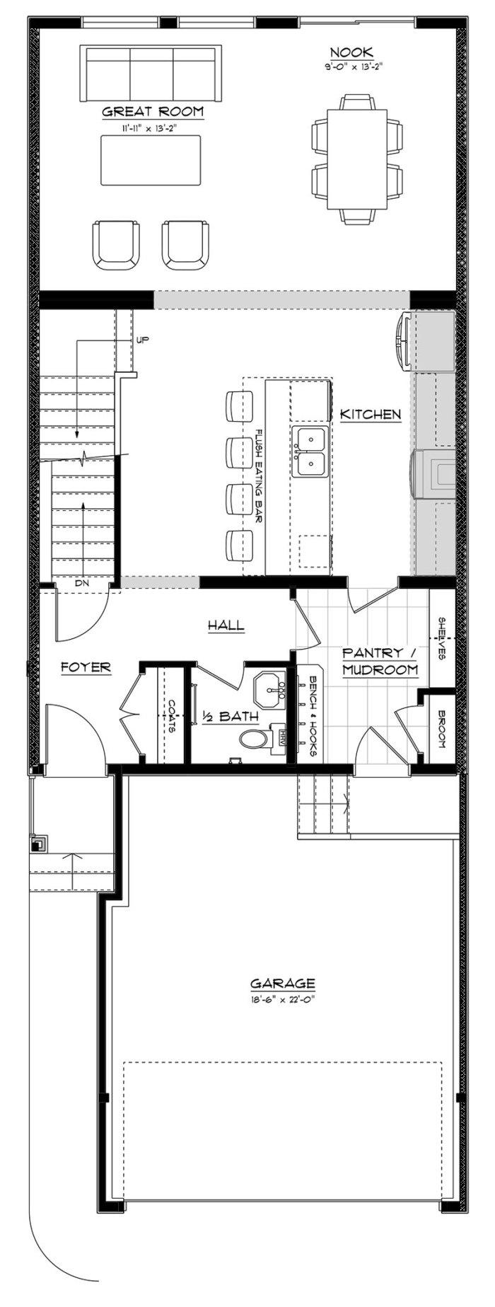Presley Main Floor No Fireplace
