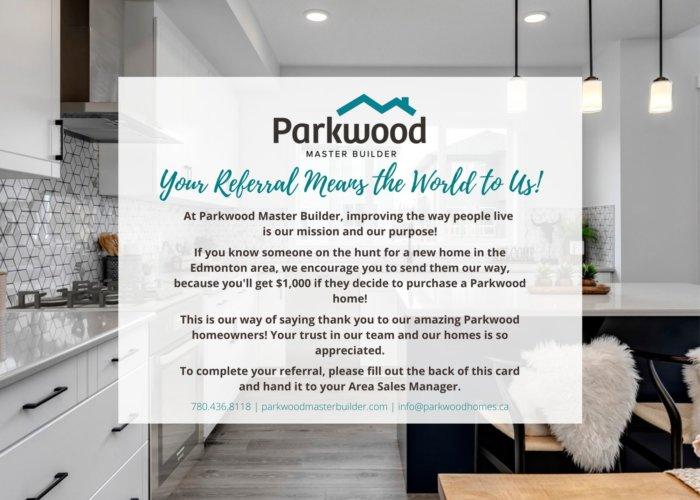 Parkwood Referral Program