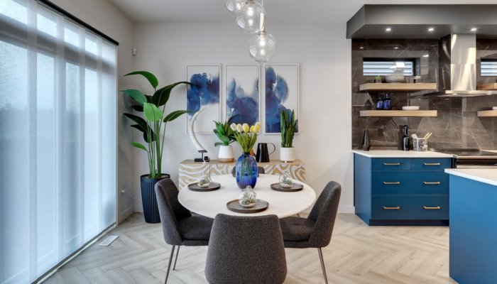 Riverside Showhome Dining