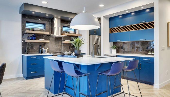 Riverside Showhome Kitchen