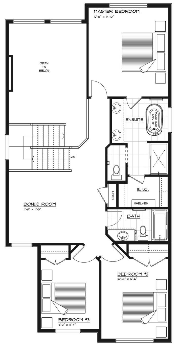 Newport II Second Floor 2020 Bed Bonus Room