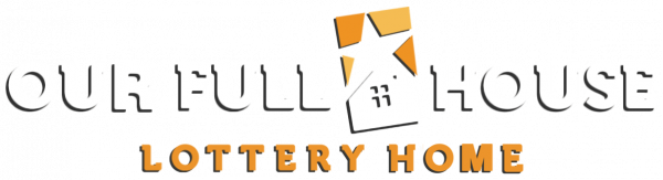 Our Full House Lottery Home Logo
